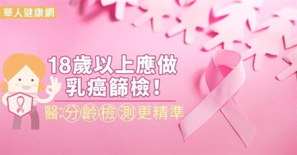 18歲以上應做乳癌篩檢!醫:分齡檢測更精準