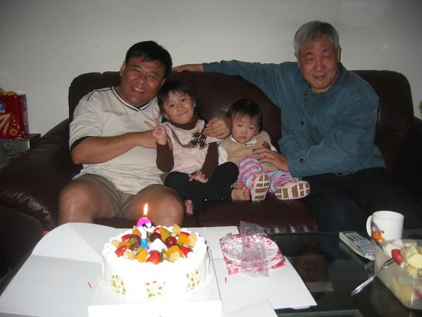 安安四歲生日