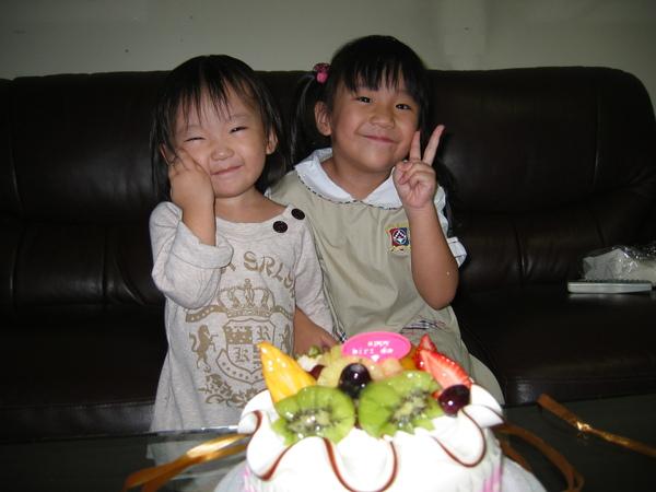 小穎兩歲生日快樂