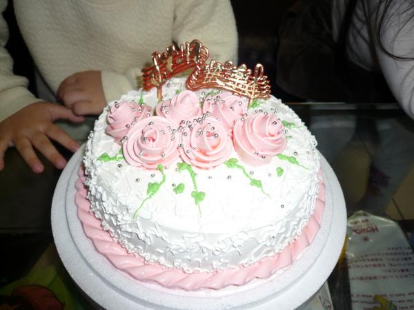 蘇小安五歲的生日蛋糕