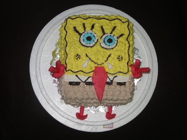 海綿寶寶蛋糕