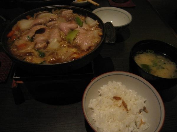 美味松板豬肉壽喜燒