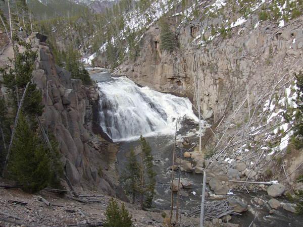 這裡也有瀑布