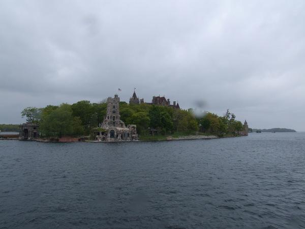 每個小島上的建築都很有特色
