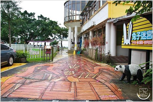 A.maze兔子迷宮景觀咖啡餐廳 (2)