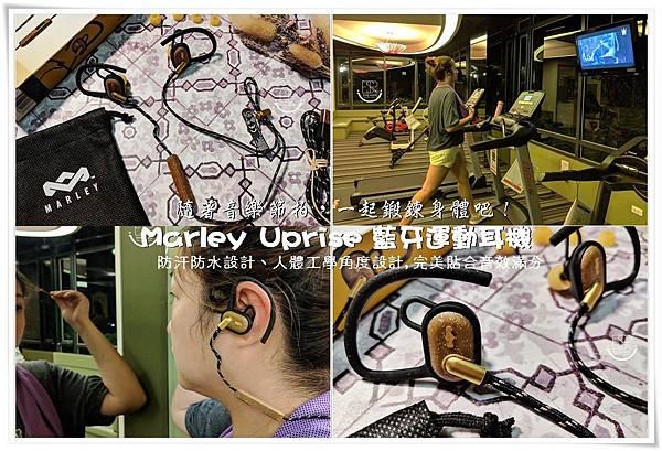 Marley Uprise 藍牙運動耳機 (14.)