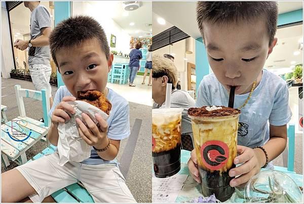 Q哥 黑糖珍珠鮮奶&香脆雞排專賣店 (2)