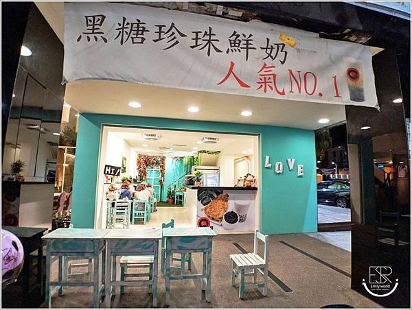 Q哥 黑糖珍珠鮮奶&香脆雞排專賣店 (16)