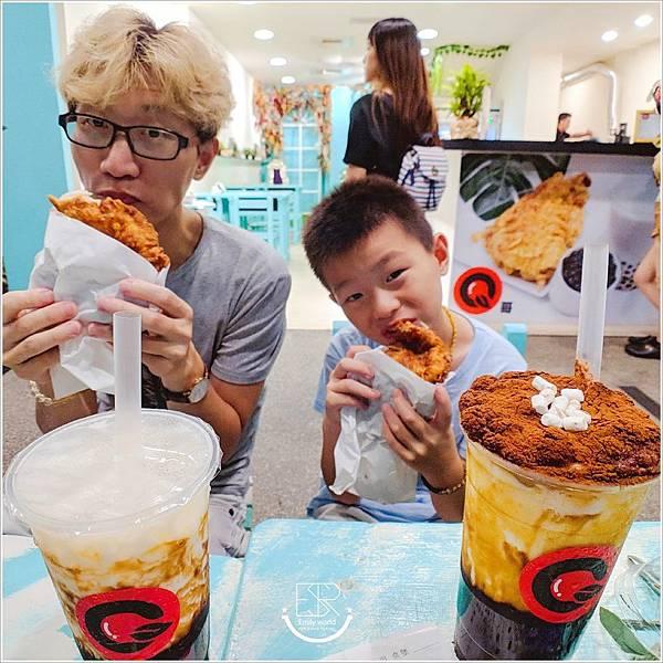 Q哥 黑糖珍珠鮮奶&香脆雞排專賣店 (25)