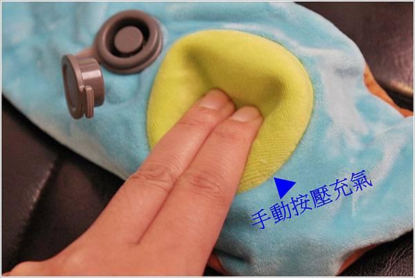 兒童Mini手動旅行充氣枕-柴犬特別版 (13)