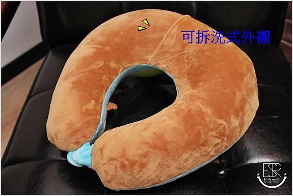 兒童Mini手動旅行充氣枕-柴犬特別版 (17)