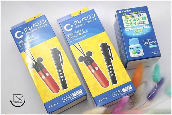 日本CLEVERIN加護靈 迪士尼米奇隨身抑菌筆(28)