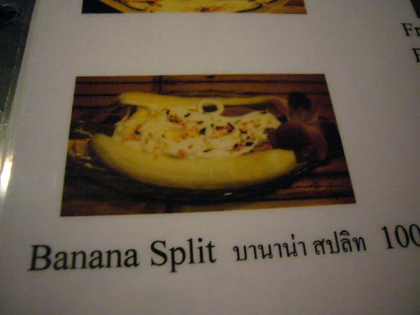 香蕉類的甜點總是特別吸引我