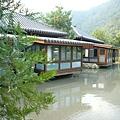 有點像日式建築的villa