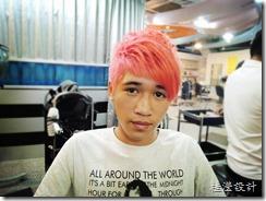 粉紅色髮色