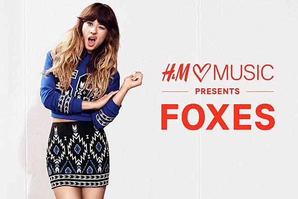 Foxes-H&M love music