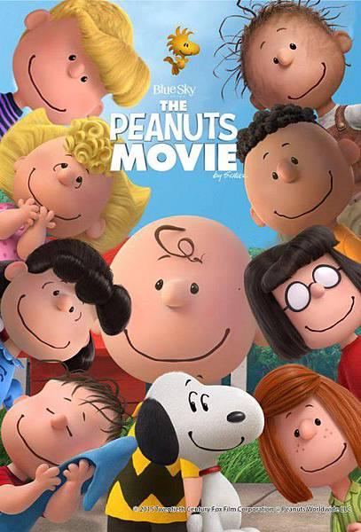 史努比 The Peanuts Movie poster2