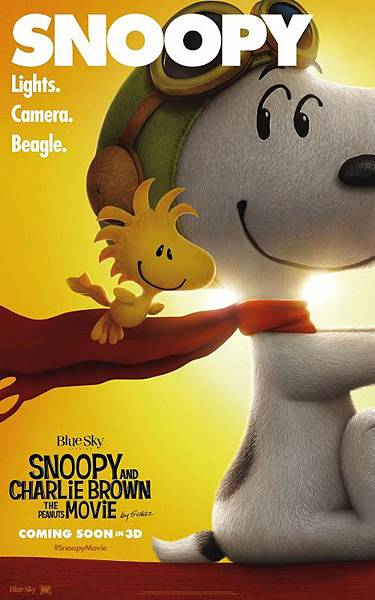 史努比 The Peanuts Movie poster3