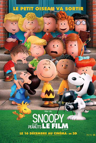 史努比 The Peanuts Movie poster1