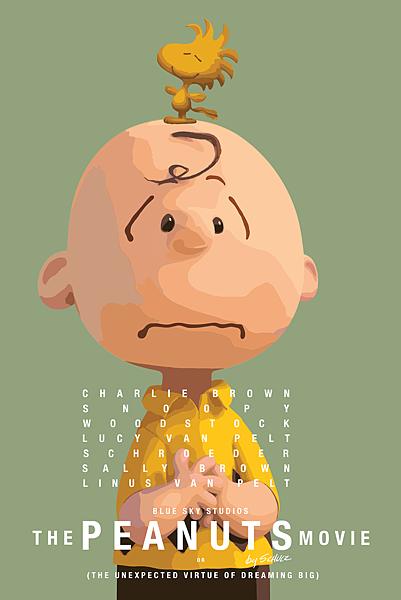 史努比 The Peanuts Movie poster4