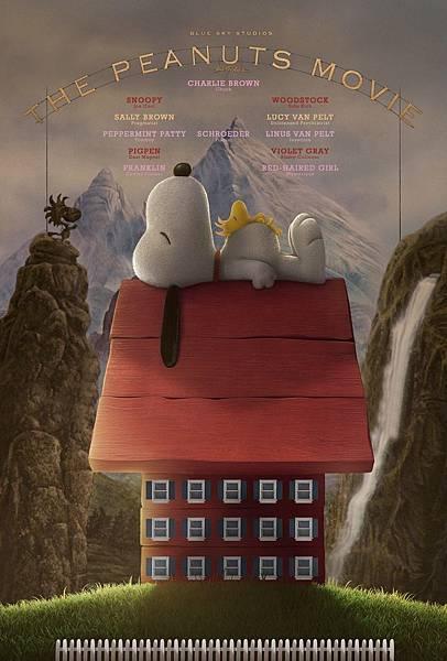 史努比 The Peanuts Movie poster5