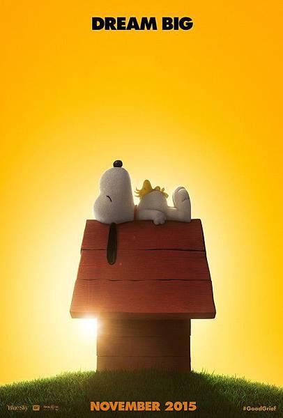 史努比 The Peanuts Movie poster10