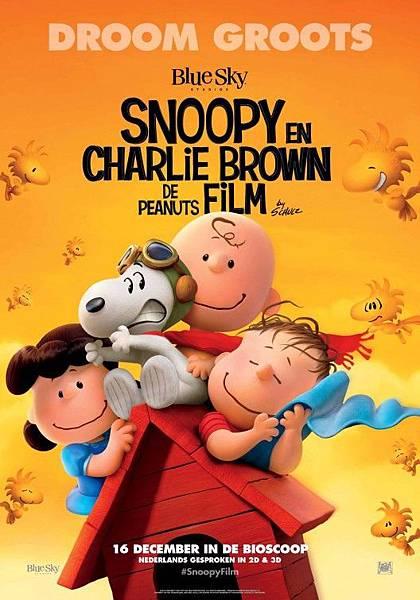 史努比 The Peanuts Movie poster11