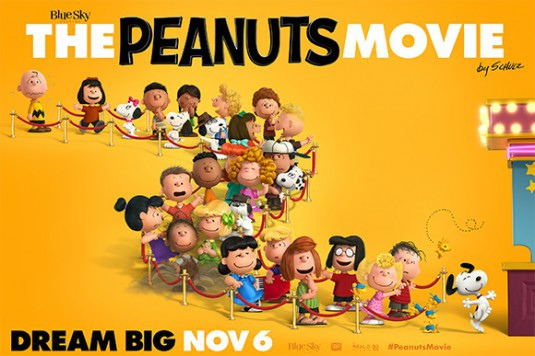 史努比 The Peanuts Movie poster12