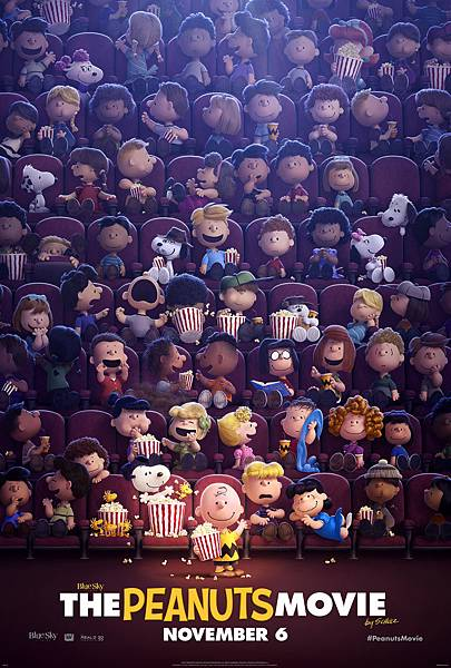 史努比 The Peanuts Movie poster13