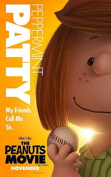 史努比 The Peanuts Movie poster14