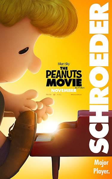 史努比 The Peanuts Movie poster19