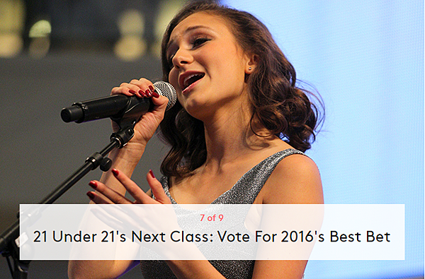 21 Under 21's Next Class: Vote For 2016's Best Bet