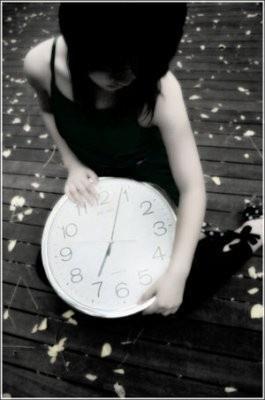 時間是殘酷的傷人武器