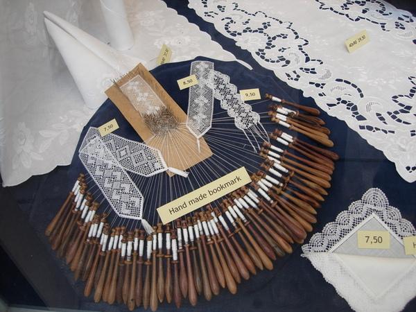 手工編織蕾絲的工具