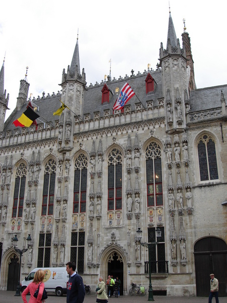 哥德式建築風格的市政府