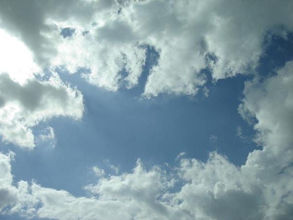 下午4點半的天空