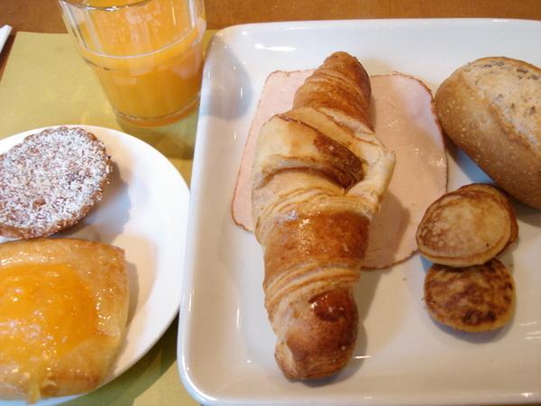 飯店的早餐