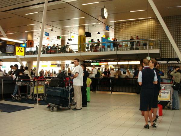 荷蘭機場--要回國嚕