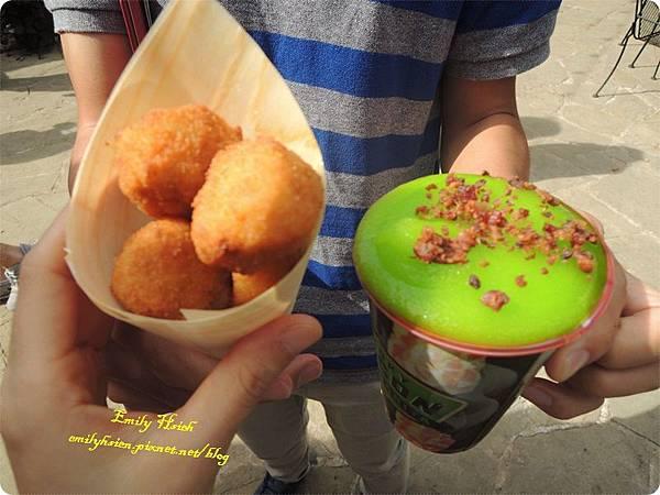 Cowboy corn crunch & Margarta1.JPG