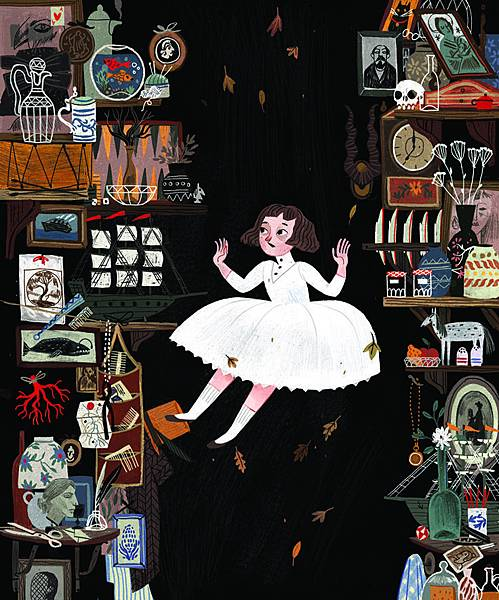 《愛麗絲夢遊仙境插圖》愛麗絲掉進兔子洞