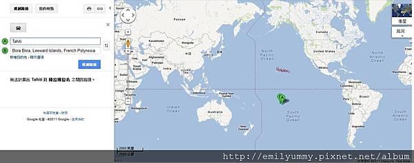 Tahiti, Bora bora google map.jpg