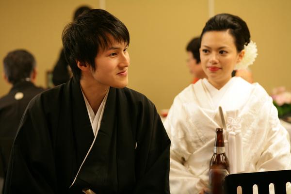 我日文很破聽力還可以,所以只能微笑聆聽