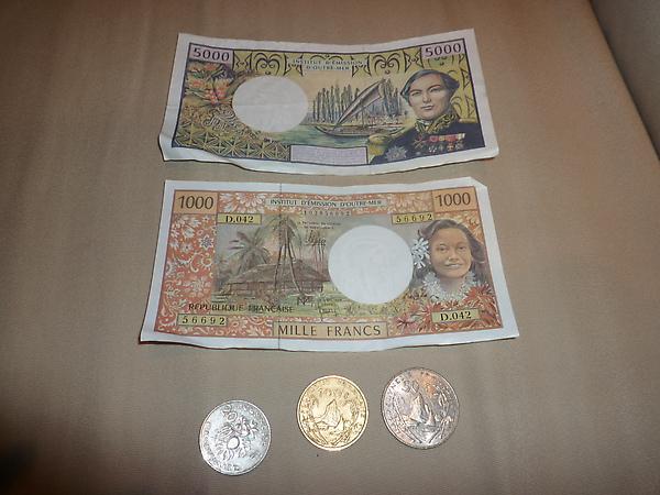 波利尼西亞貨幣