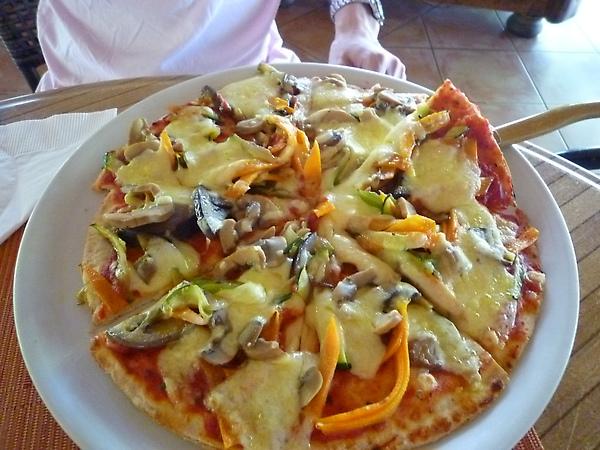 蔬菜的pizza