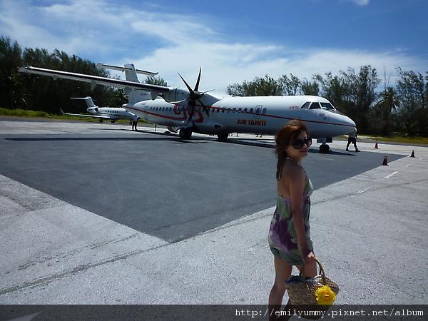 這飛機很小