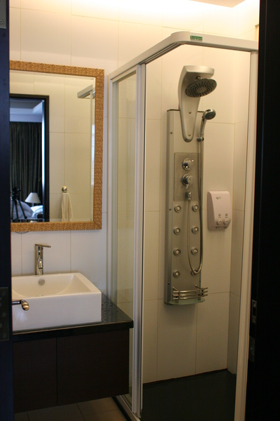 民宿裡的浴室,以後家裡也用這個好了!