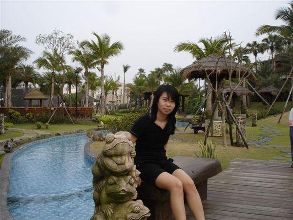 台南的天氣很熱耶!才四月份說!