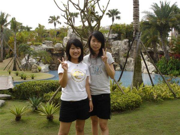 我和小惠少少的合照!