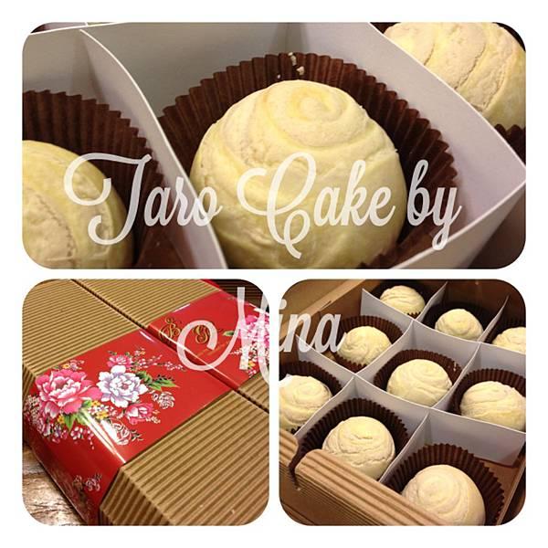 taro cake by mina