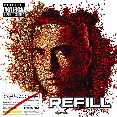 Relapse:Refill Cover
